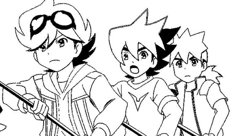 dessin à colorier tenkai knights