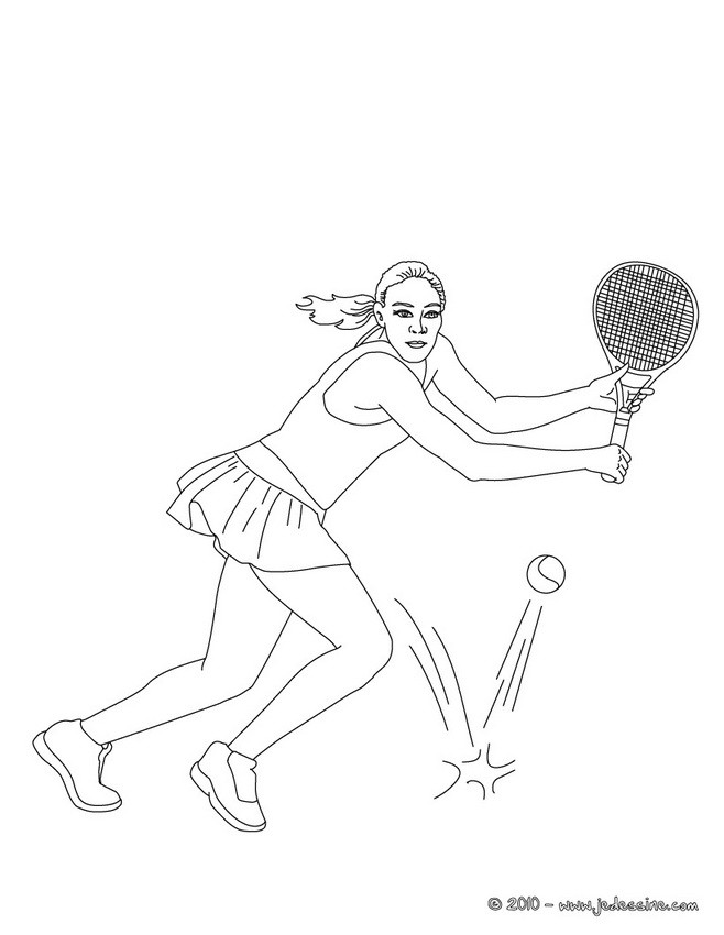 Dessin terrain de tennis - Dessin tennis de table ...