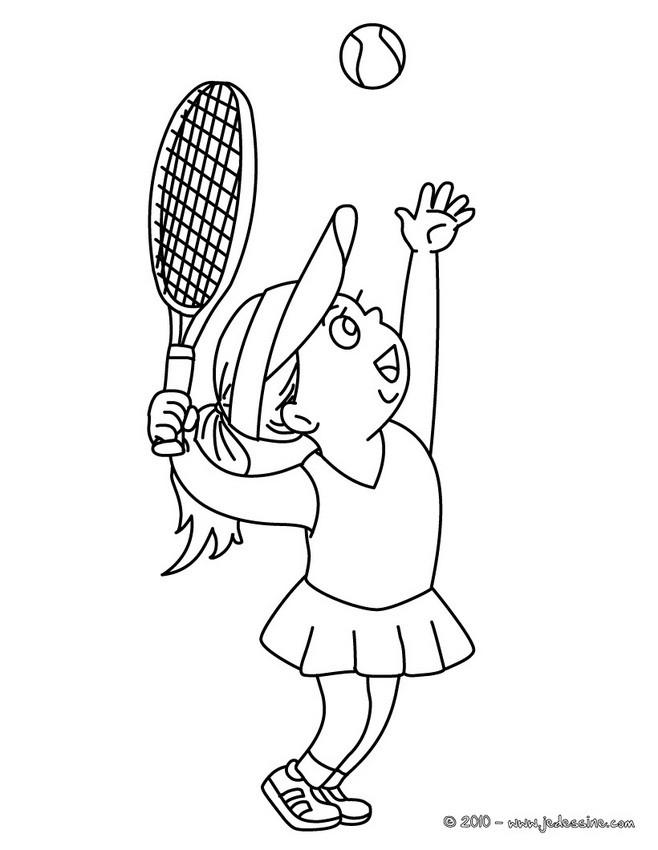Coloriage dessiner raquette tennis - Dessin raquette ...