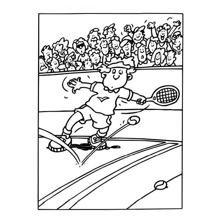 Coloriage tennis de table a imprimer - Dessin tennis de table ...