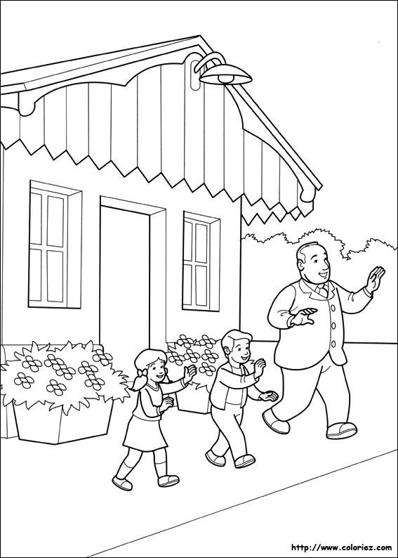 Coloriage de thomas et ses amis - Thomas et ses amis dessin anime ...