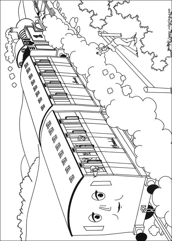 45 dessins de coloriage thomas et ses amis imprimer - Dessin de sonic et ses amis ...