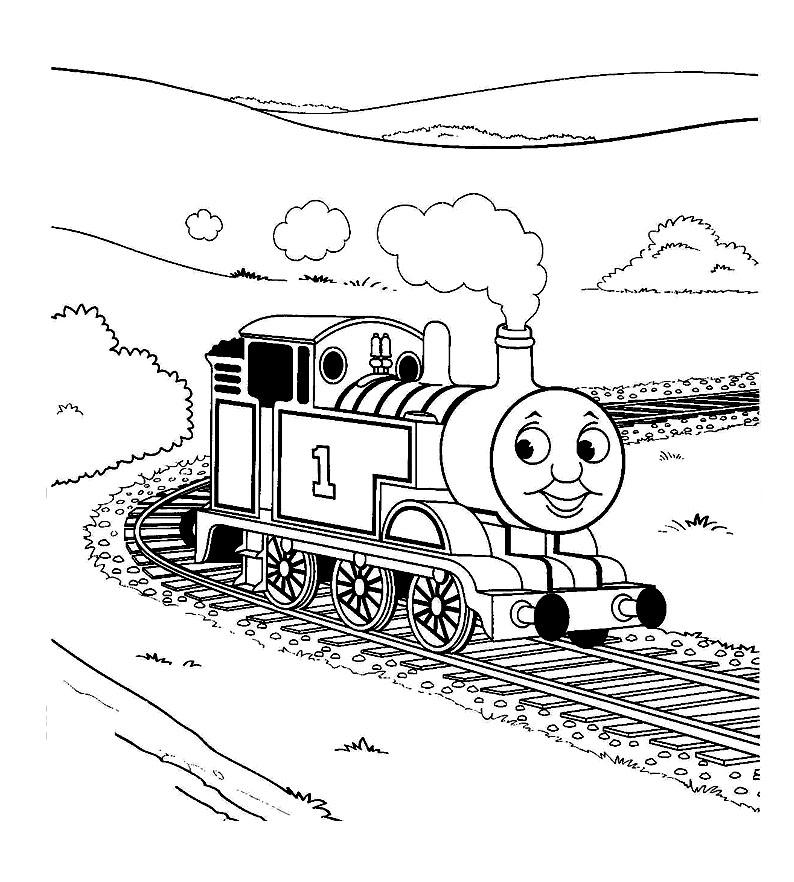 dessin thomas et ses amis