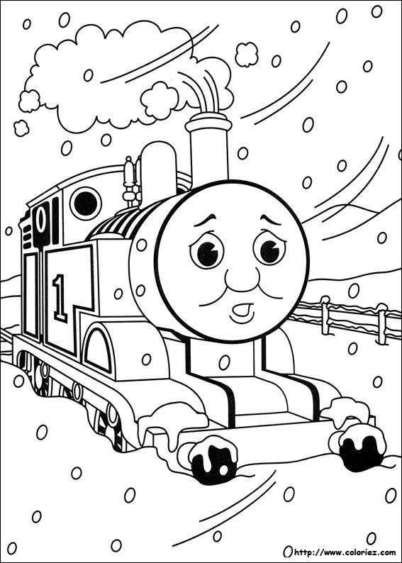 Coloriage thomas et ses amis - Thomas et ses amis dessin anime ...