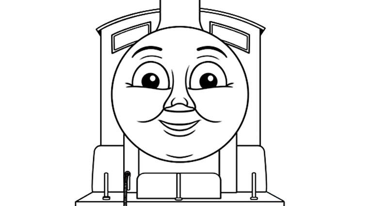 8 dessins de coloriage thomas le train et ses amis imprimer - Coloriage thomas ...