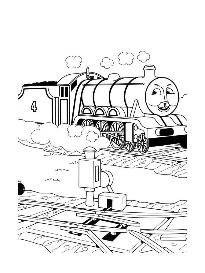 8 dessins de coloriage thomas le train et ses amis imprimer - Train thomas et ses amis ...