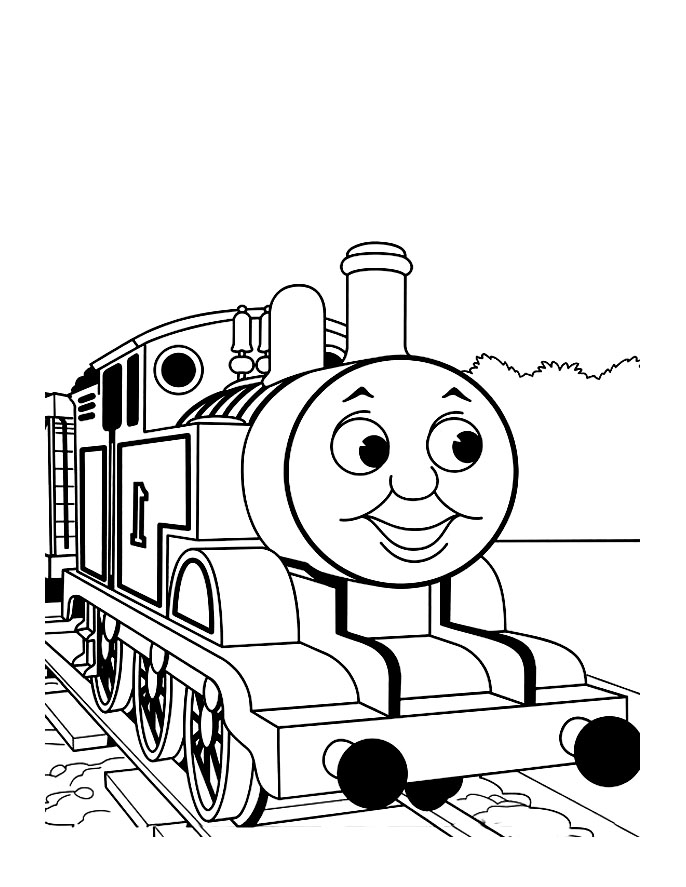 8 dessins de coloriage thomas le train et ses amis imprimer - Thomas le petit train coloriage ...
