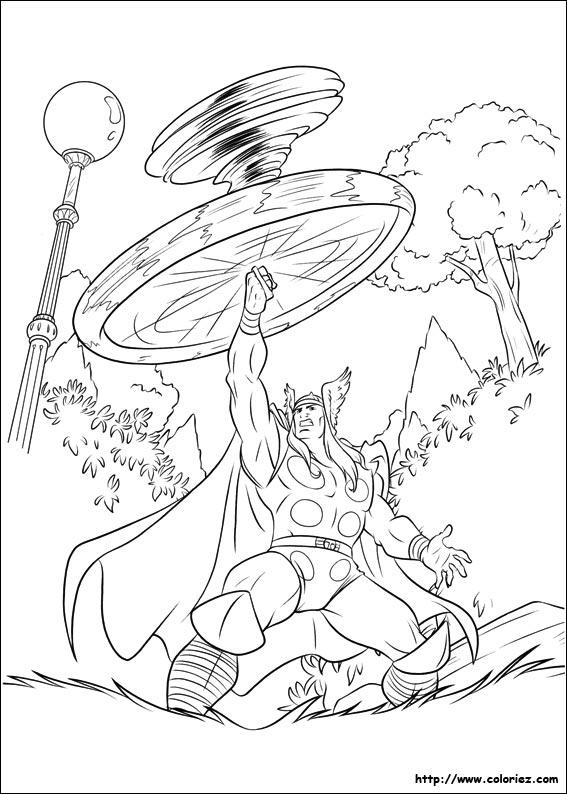 dessin thor 2