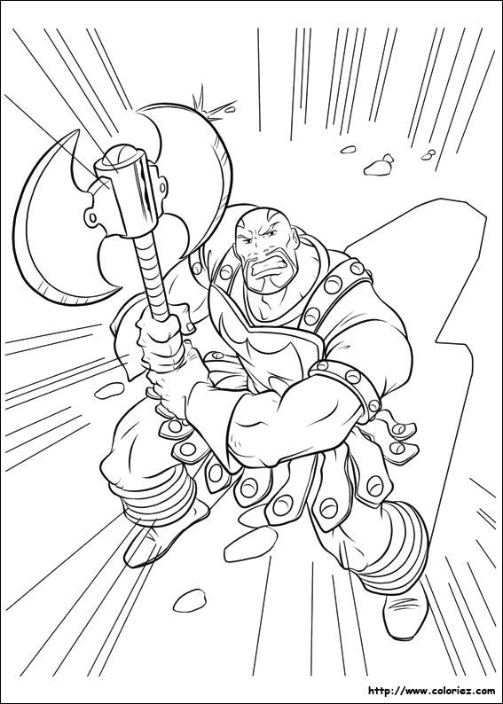 dessin marteau de thor