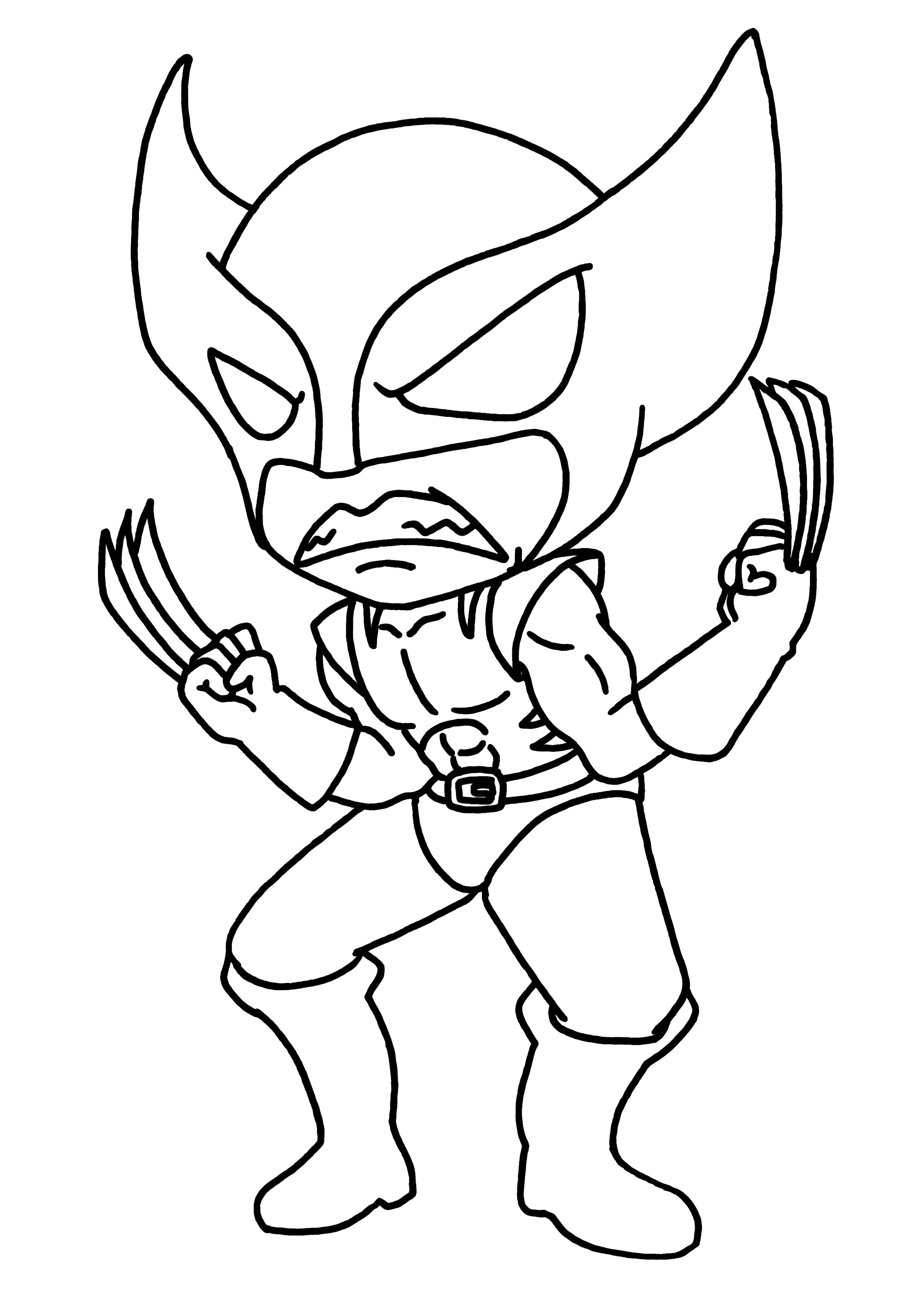 dessin de thor