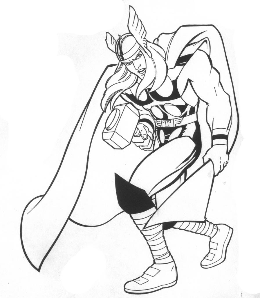 dessin thor