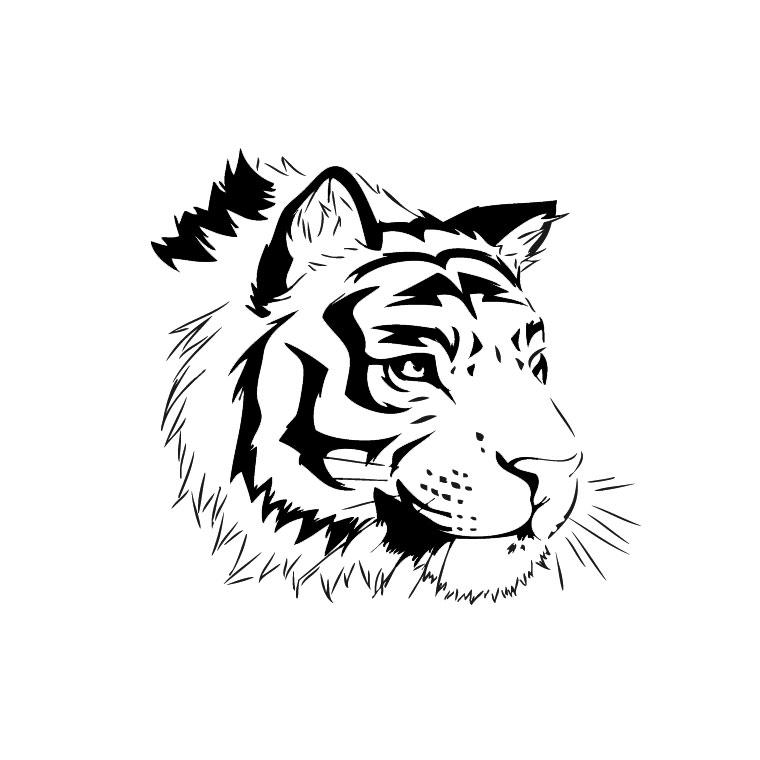 19 dessins de coloriage tigre b b imprimer - Image dessin tigre ...