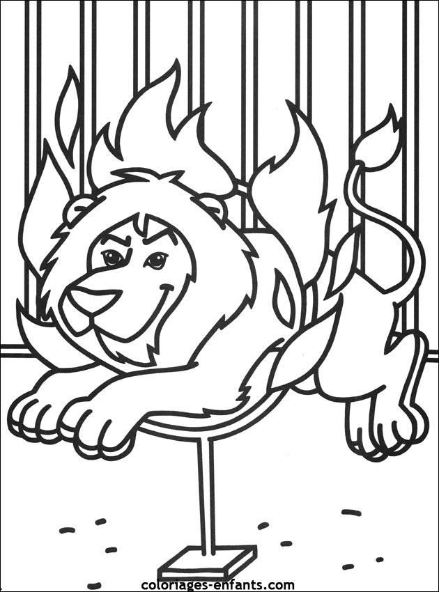 19 dessins de coloriage tigre et lion imprimer - Coloriage tigre ...