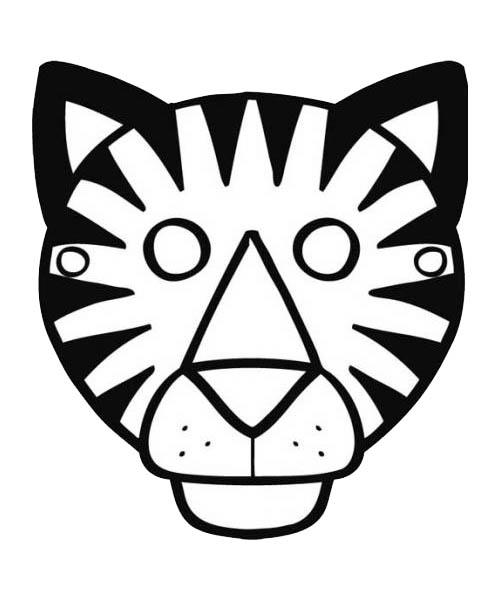18 dessins de coloriage tigre maternelle imprimer - Tigre polaire ...