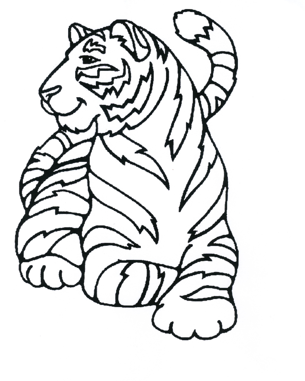 dessin de tigre sur hugo l'escargot