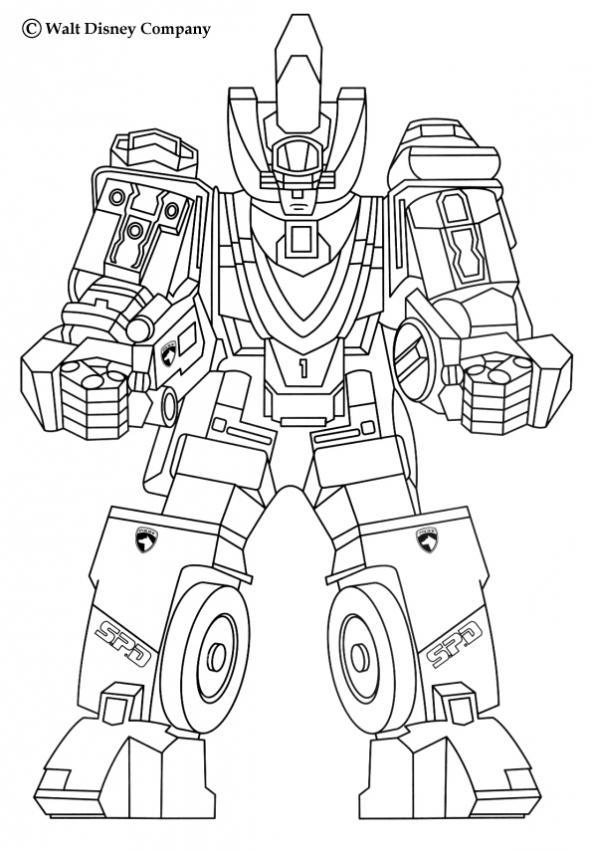 46 dessins de coloriage tobot  u00e0 imprimer