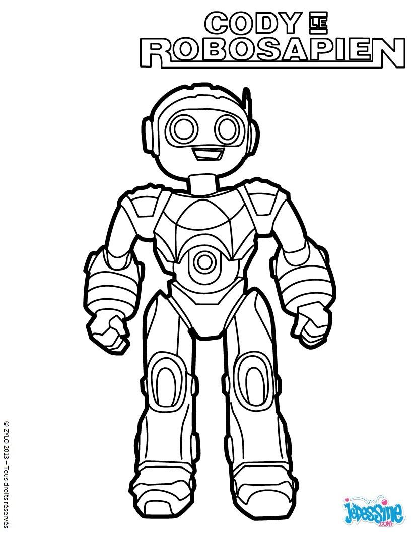 dessin dragon robot