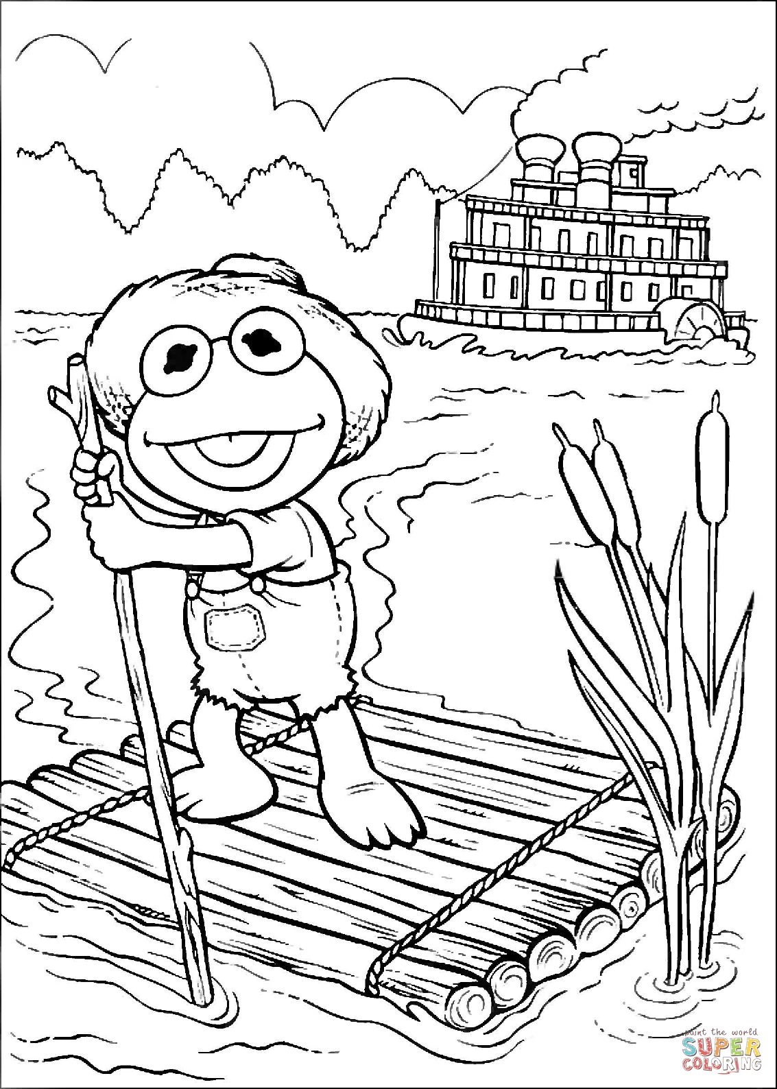 coloriage tom sawyer en ligne