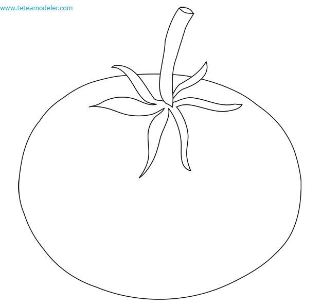 Tomate - Tomate dessin ...