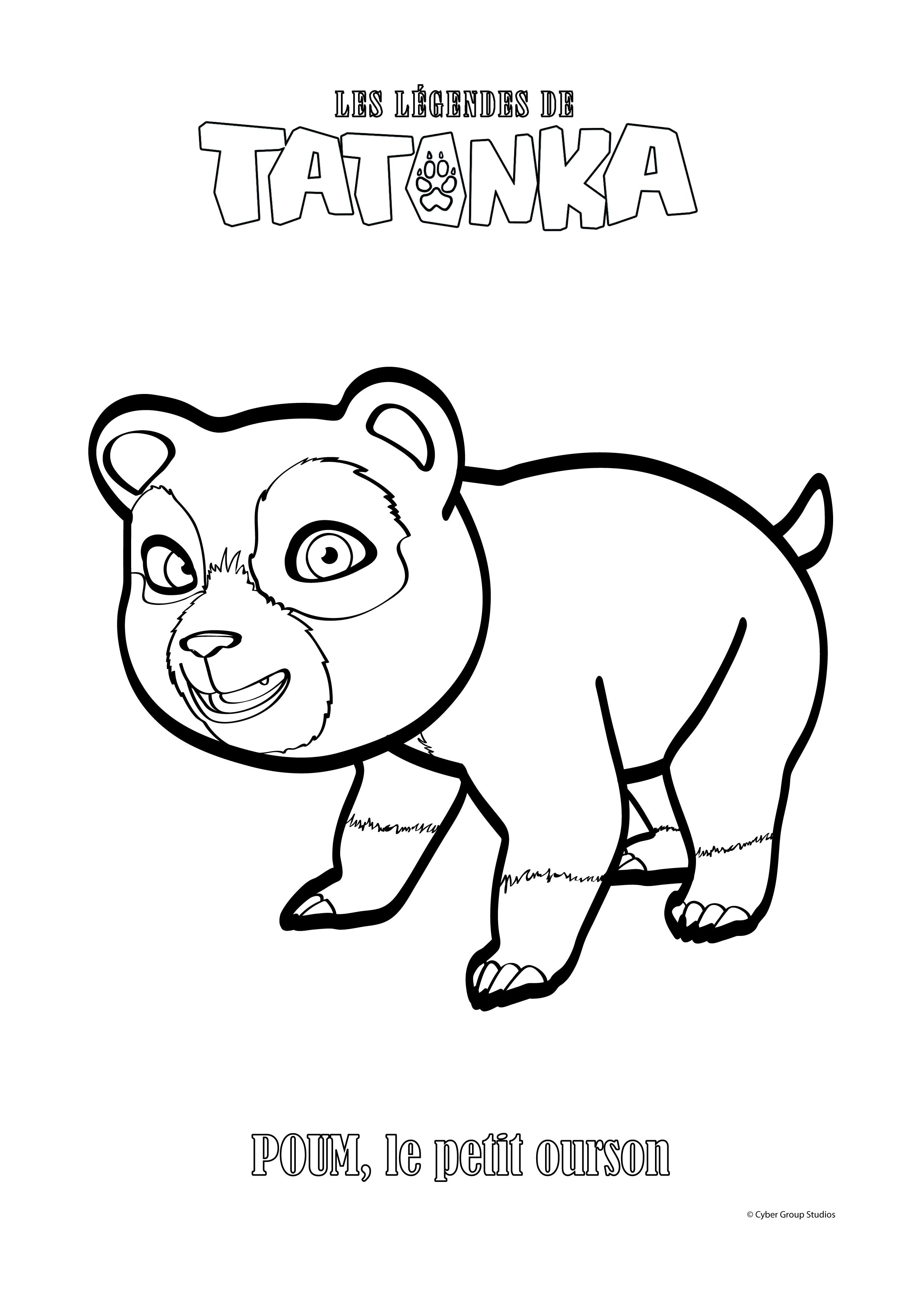coloriage à dessiner tonka