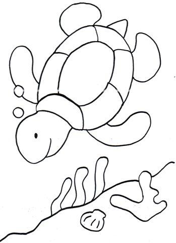 20 dessins de coloriage tortue de mer imprimer. Black Bedroom Furniture Sets. Home Design Ideas