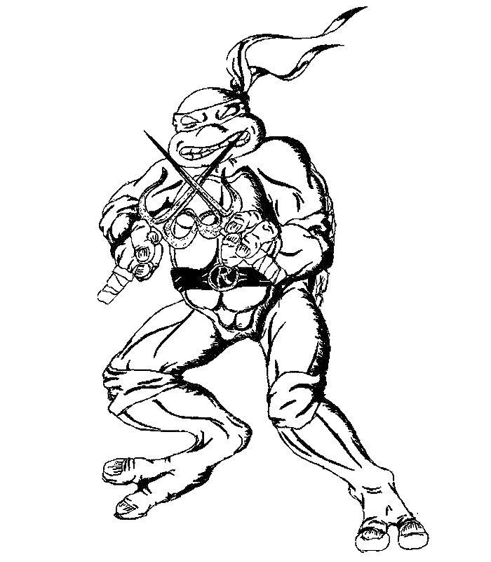jeux dessin tortue ninja gratuit
