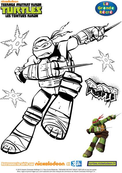 jeux de coloriage tortues ninja