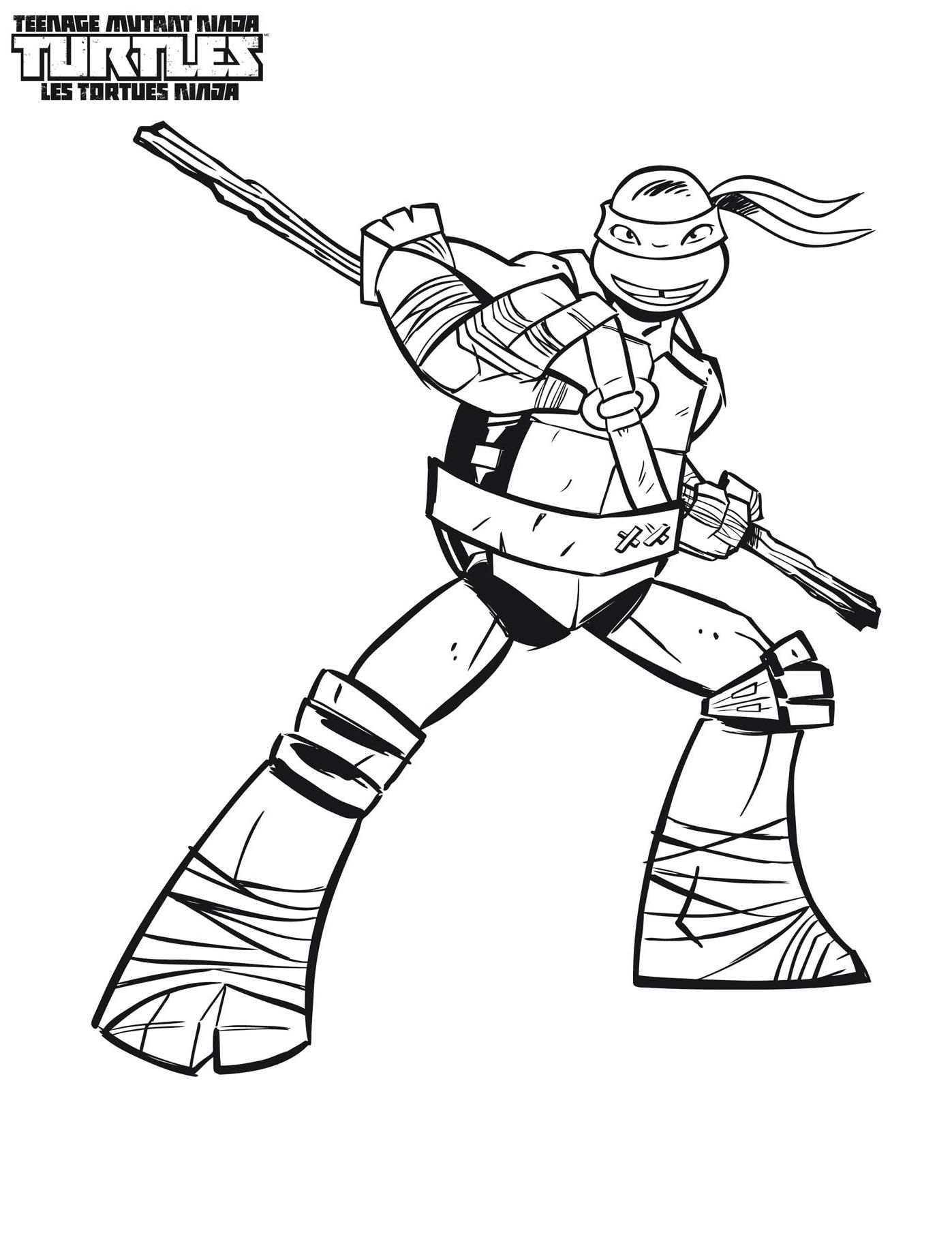 jeux de dessin tortues ninja