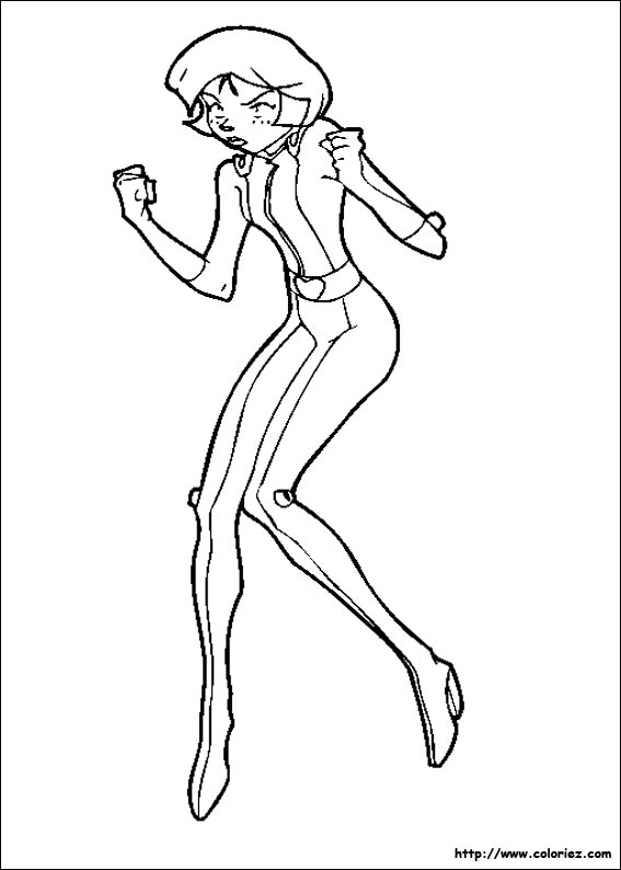 hugo l'escargot dessin totally spies