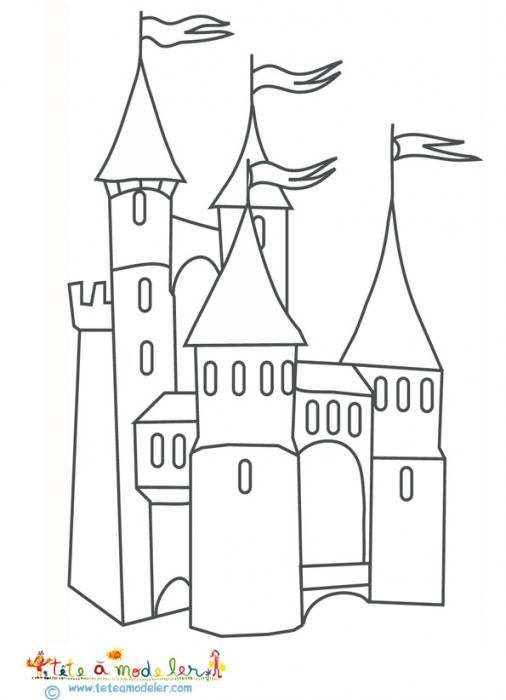 coloriage à dessiner tour eiffel delaunay