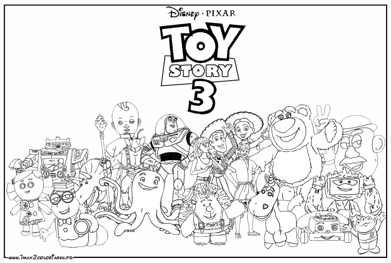124 dessins de coloriage toy story imprimer - Coloriage buzz a imprimer ...
