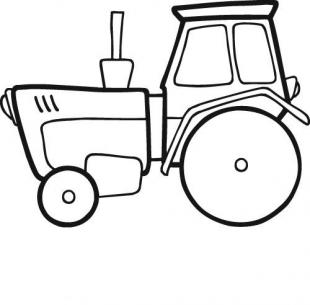 93 dessins de coloriage tracteur gratuit imprimer - Dessin d un tracteur ...