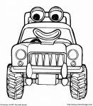 dessin tracteur à la ferme