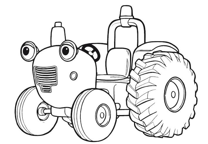 Coloriage de tracteur claas - Tracteur rigolo ...