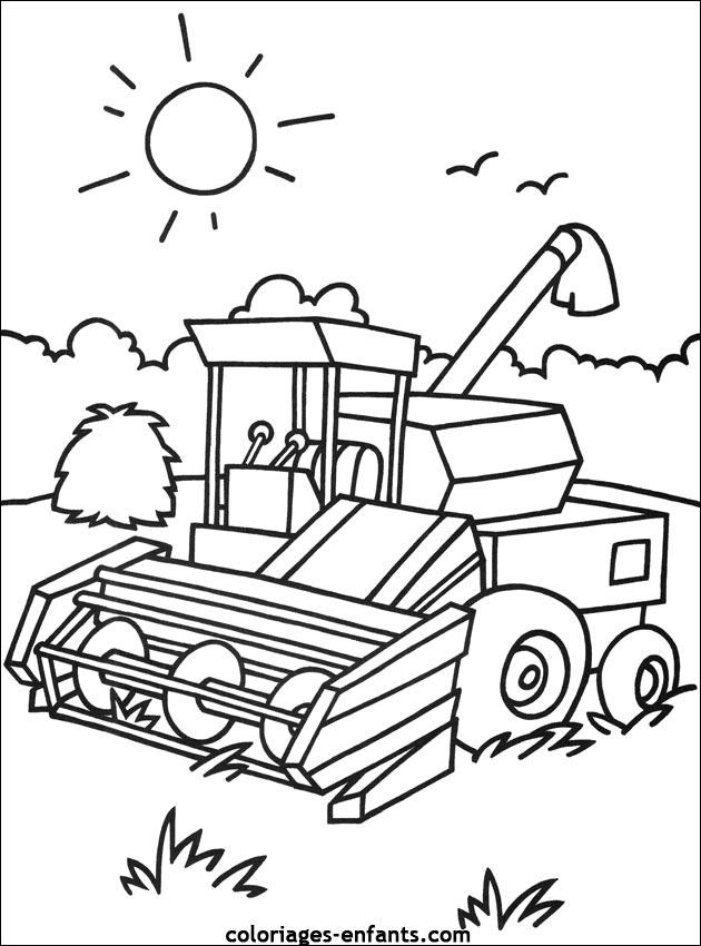 Dessin ã Colorier De Tracteur John Deere