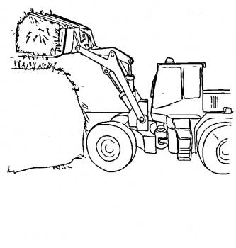 Dessin imprimer tracteur agricole - Dessin a imprimer de tracteur ...