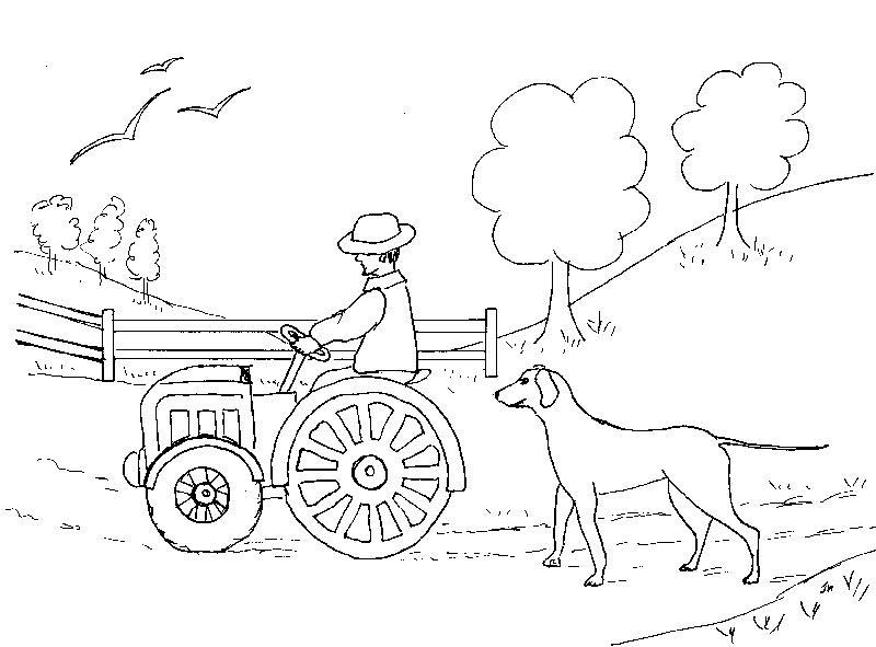 Coloriage Hugo Lescargot Tracteur.Dessin Tracteur Hugo L Escargot