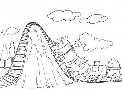 95 dessins de coloriage train a vapeur imprimer - Train a vapeur coloriage ...