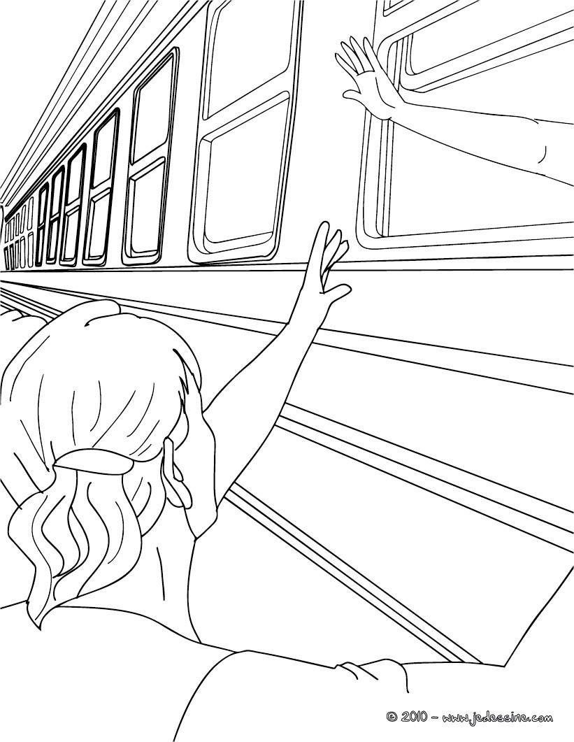 Coloriage train en ligne imprimer et obtenir une coloriage gratuit ici - Train en dessin ...