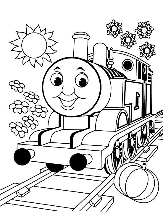 100 dessins de coloriage train en ligne imprimer - Locomotive dessin ...
