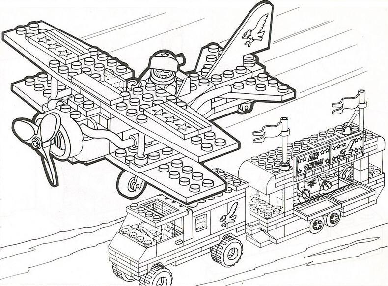 93 dessins de coloriage train lego imprimer - Dessin de lego ...
