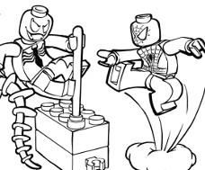 93 dessins de coloriage Train Lego à imprimer