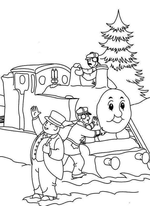97 dessins de coloriage train thomas a imprimer imprimer - Coloriage thomas ...