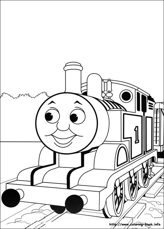 95 dessins de coloriage train thomas  u00e0 imprimer