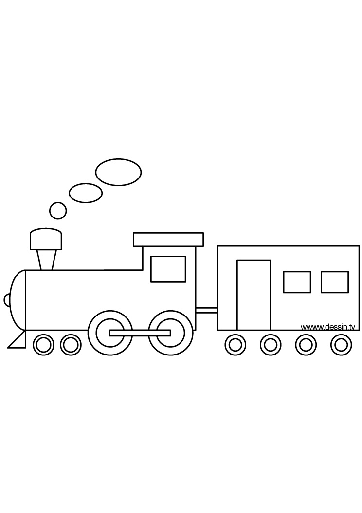 dessin a imprimer train chuggington