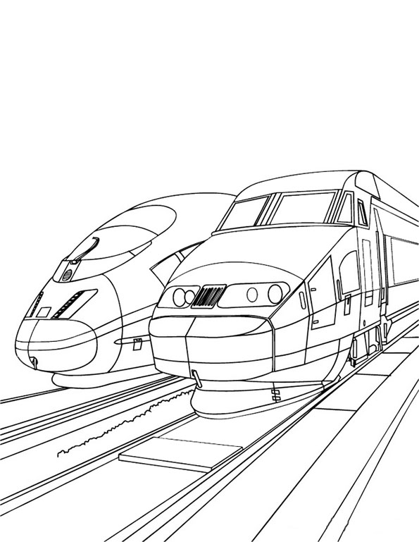dessin à colorier gordon le train
