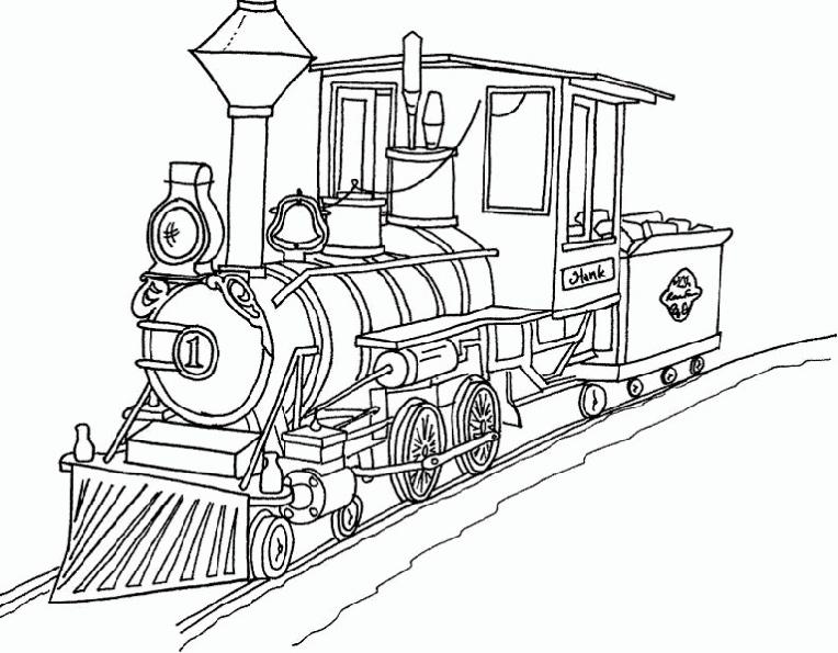 dessin rail train