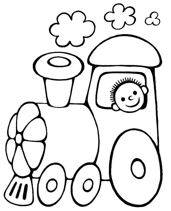 Dessin colorier train et wagon - Train dessin anime chuggington ...