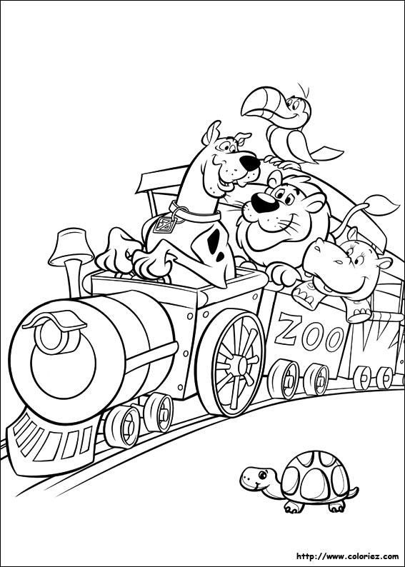 Dessin Train A Imprimer Gratuit