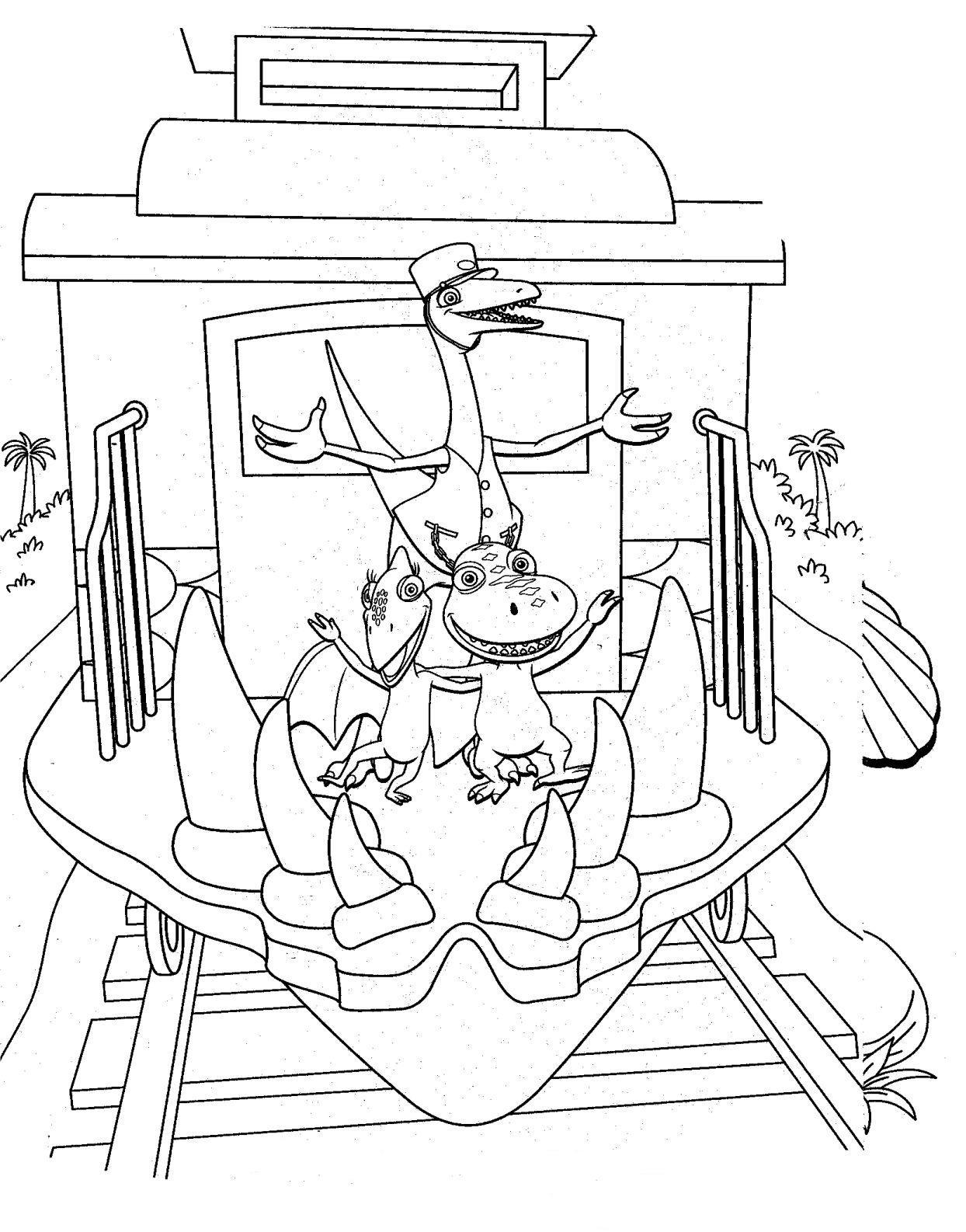 Coloriage petit train imprimer - Coloriage train a vapeur a imprimer ...
